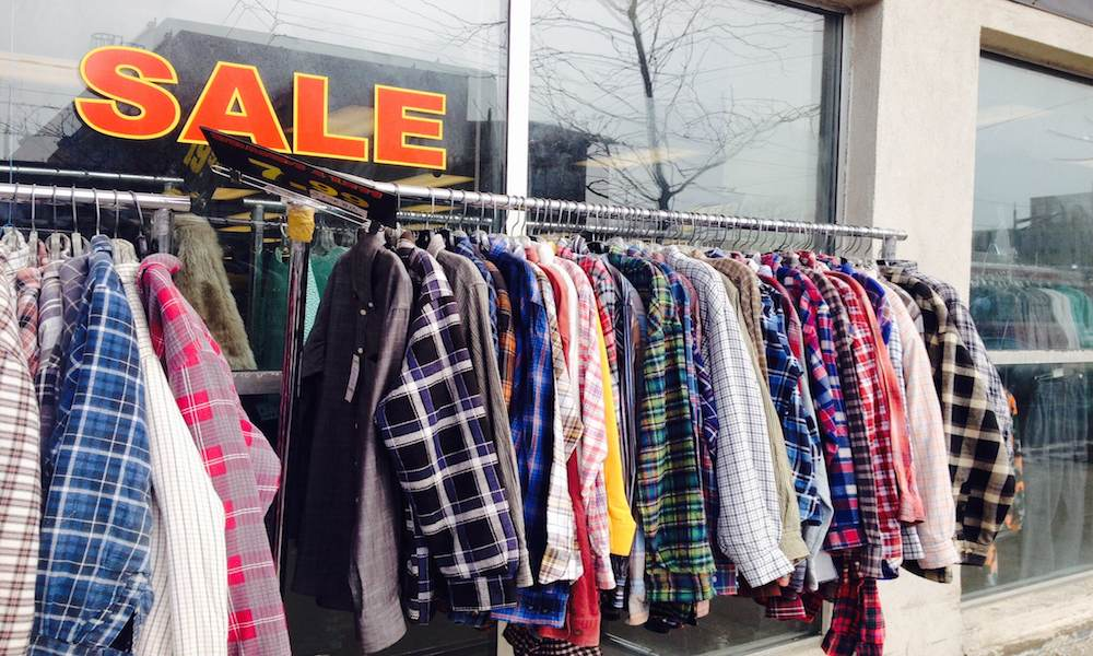 Foap plaid shirts rackheader